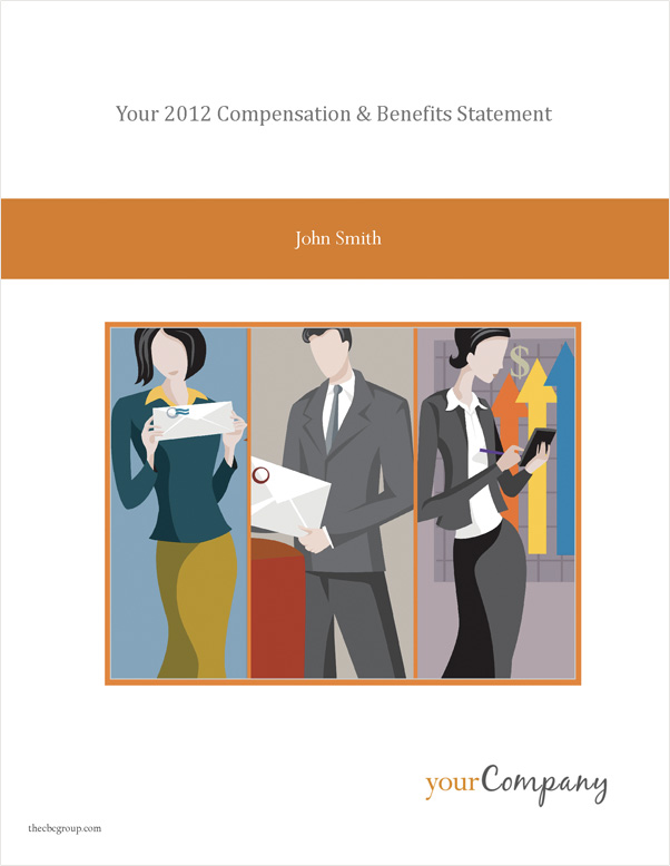 Total Compensation Statement Sample Letter-Size